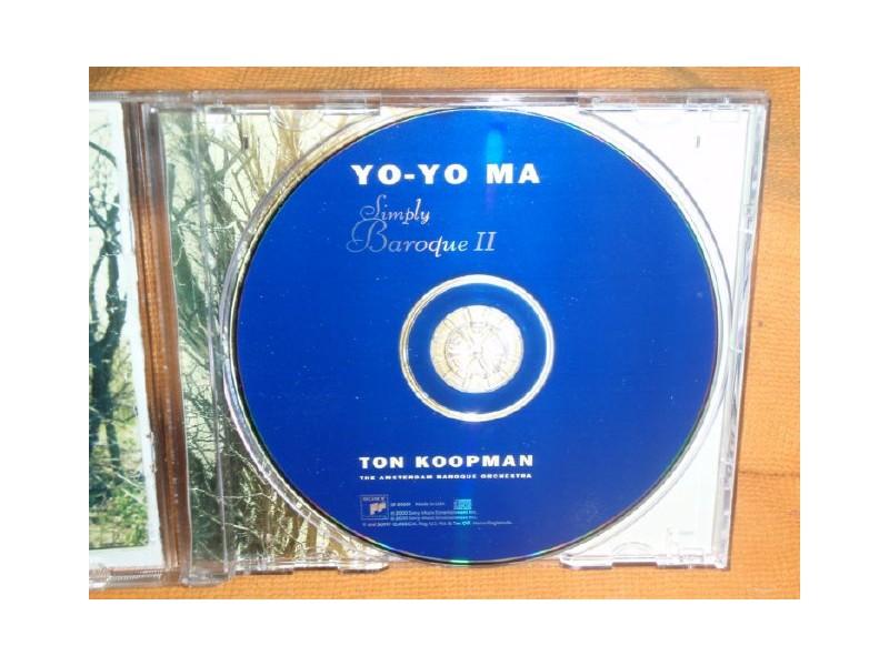 YO-YO MA - Simply Baroque ll (CD)