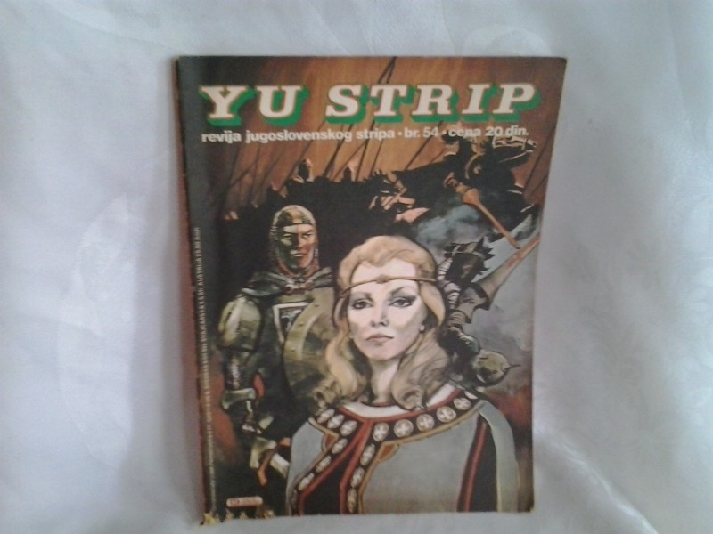 YU strip revija jugoslovenskog stripa 54