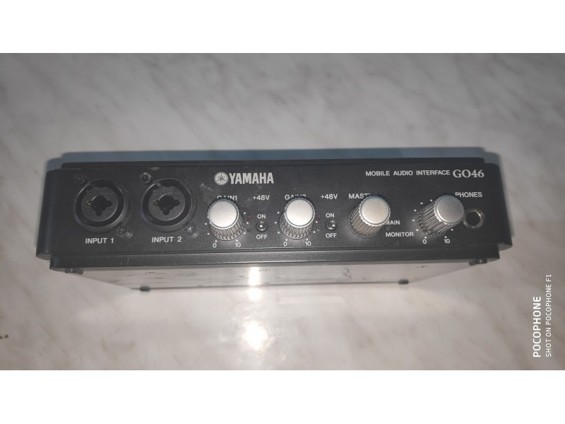 Yamaha GO46 Mobile Firewire Audio Interface