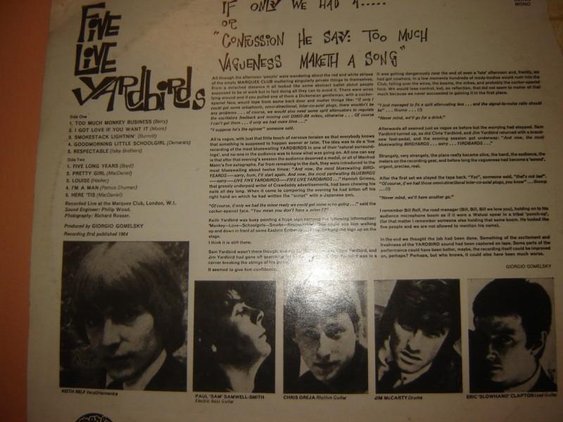 Yardbirds - Five live