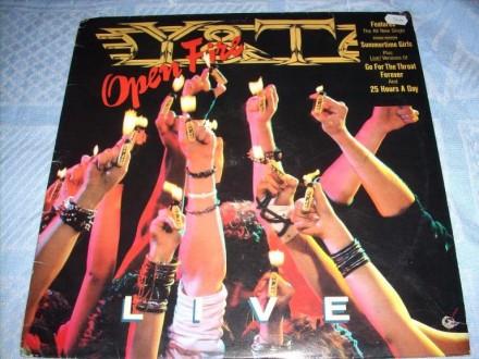 Y&T-Open Fire LP