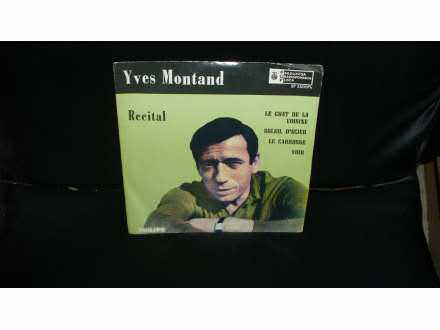 Yves Montand - Recital