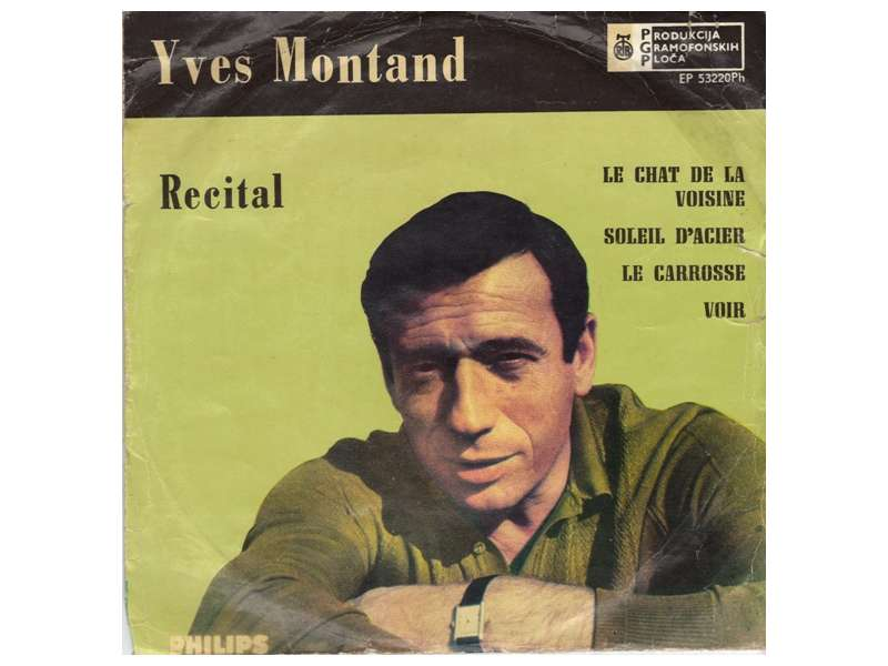 Yves Montand - Recital