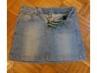 ZARA mini suknja, teksas, vel.9-10 (140)