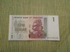 ZIMBABVE ONE DOLLAR 2007