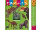 ŽIVOTINJE IZ CELOG SVETA - knjiga i slagalica - puzzles