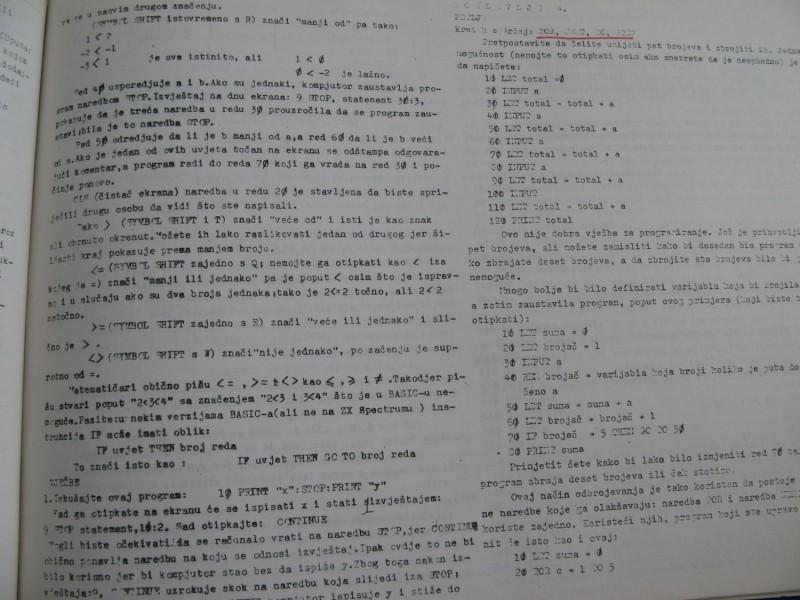 ZX Spectrum literatura
