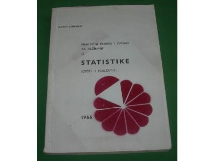 Zadaci iz statistike (opšte i poslovne) - M. Jančurić
