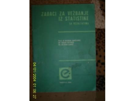 Zadaci za vezbanje iz statistike sa rezultatima