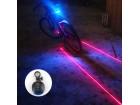 Zadnje svetlo za bicikl sa laserom