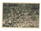 Zagreb,zracni snimak,cb razglednica iz 1955,putovala.