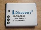 Zamenska DB-SL80 (D-Li88) za Pentax aparate