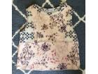 Zara patchwork puder roze top majica *NOVOO*
