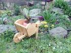 Žardinjera Drvena kolica za cveće
