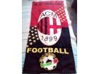 Zastava - peškir AC Milan