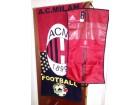 Zastava - peškir i kesa za odelo AC Milan