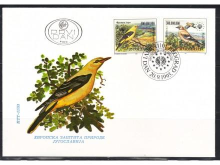 Zaštita prirode 1993.,FDC