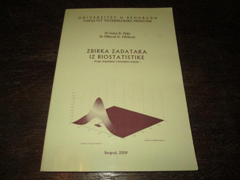 Zbirka zadataka iz biostatistike Ivana D. Pejin