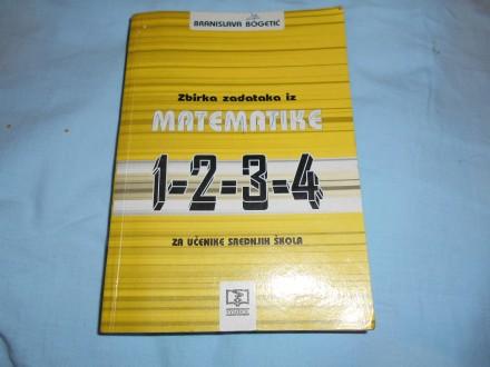 Zbirka zadataka iz matematike,Branislava Bogetić