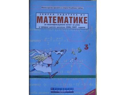Zbirka zadataka iz matematike za kvalifikacioni ispit