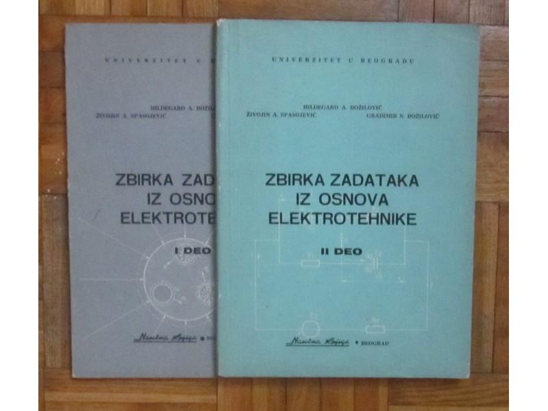 Zbirka zadataka iz osnova elektrotehnike I i II