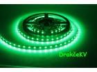 Zelena LED traka sa napajanjem 5 metara 300 LED