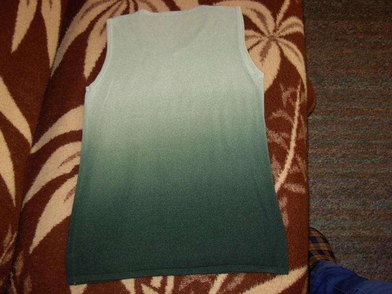 Zelena končana bluza sa vezom