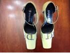 Zelene kožne sandale
