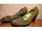 Zelene retro cipele