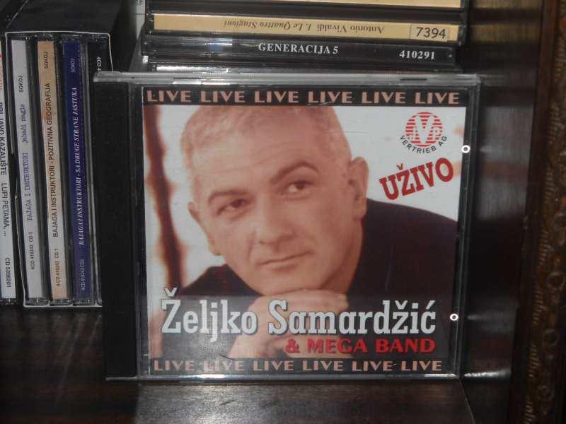 Željko Samardžić, Mega Band - Uživo