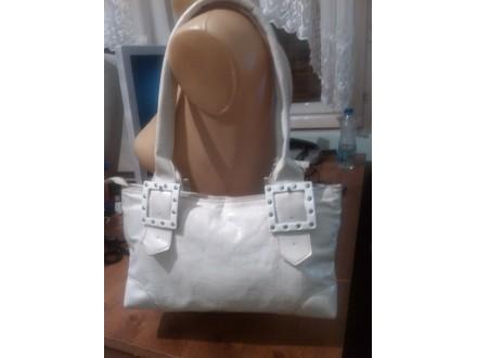 Zenska bela torbica