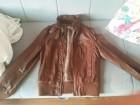 Ženska braon jakna -veličina S - od veštačke kože