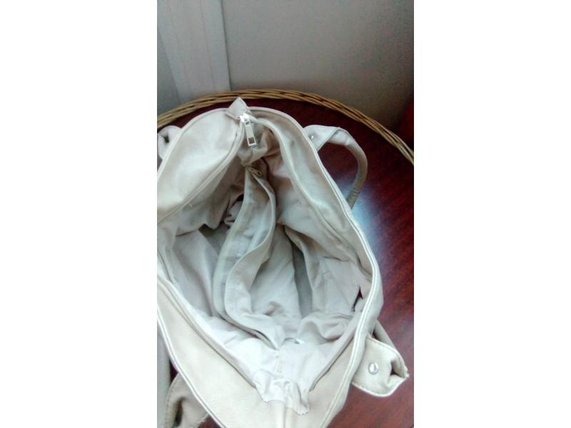 Ženska torba bela
