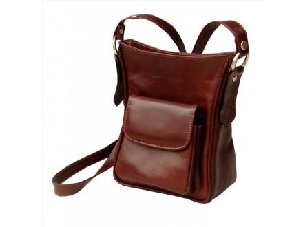 Ženska torbica od prirodne kože, ručni rad, artikal 440