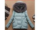 Zenska zimska jakna sa krznenom kapuljacom M,L,XL,XXL
