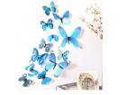 Zidna dekoracija leptiri 12 komada
