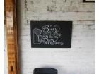 Zidna tabla za crtanje i pisanje kredom 80cm x 60cm
