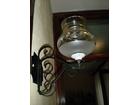 Zidne lampe - kovano gvozdje