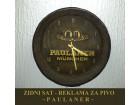Zidni Sat Stari - Reklama za pivo - PAULANER - RARITET