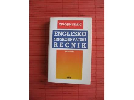 Živojin Simić, ENGLESKO-SRPSKOHRVATSKI REČNIK