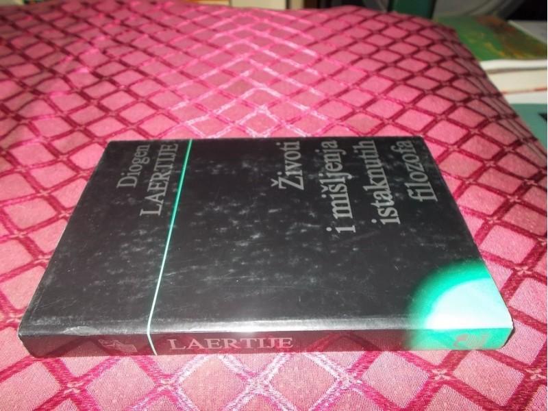 Zivoti i misljenja istaknutih filozofa- Diogen Laertije