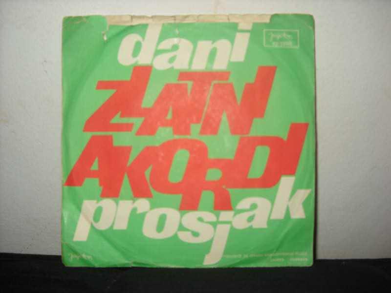 Zlatni Akordi - Đani / Prosjak