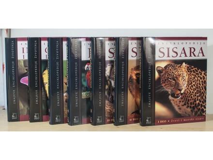 Zmajeve Enciklopedije Životinja - komplet od 7 knjiga