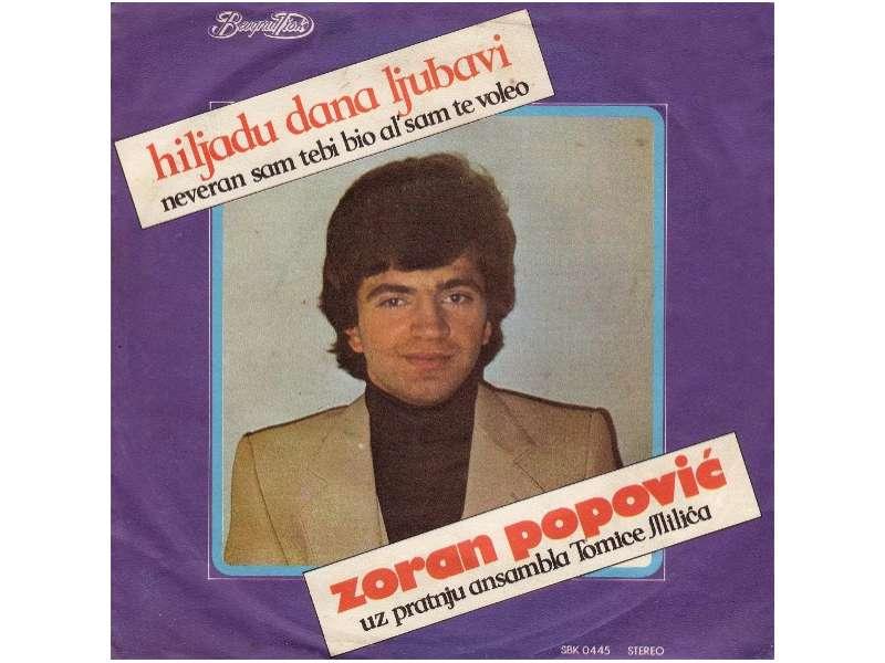 Zoran Popović (2) - Hiljadu Dana Ljubavi