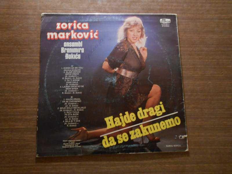 Zorica Marković, Ansambl Branimira Đokića - Rođen Da Me Voli