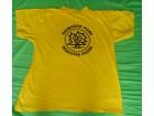 Žuta pamučna majica sa putovanja, M