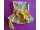 Žuta top majica, S, Italia, nekorišćena