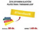 Žuta zatvorena Elastična Pilates Traka