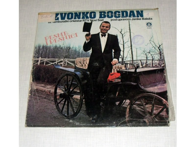 Zvonko Bogdan, Tamburaški Orkestar RT Novi Sad, Janika Balaž - Pesme I Pesnici