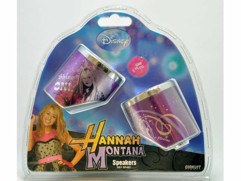 Zvučnici USB 2.0 za laptop ili računar - Hannah Montana